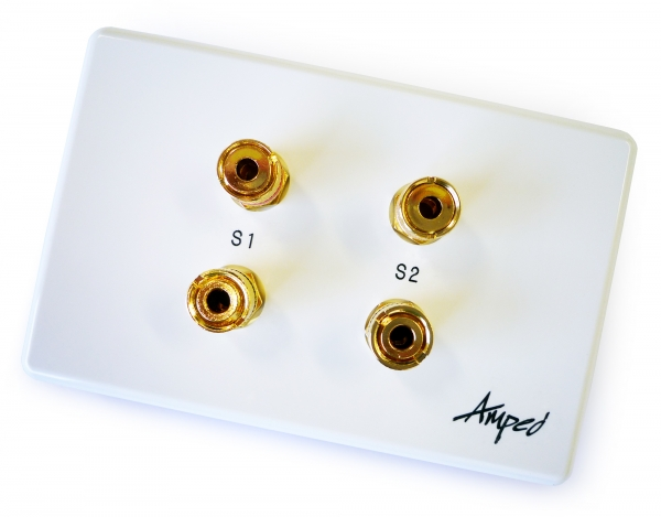 Amped Classic 2 Speaker (White Wall Plate) (Photo )
