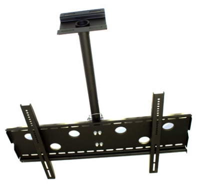Premium LCD & Plasma TV Ceiling Mount Bracket - 80kg (Black) (Photo )