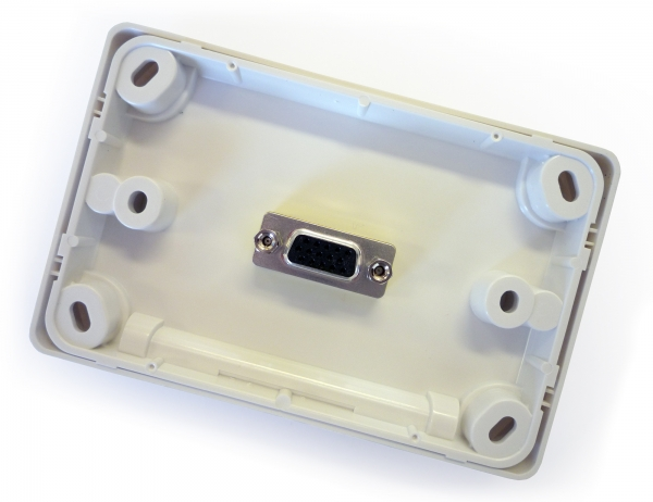 Amped Classic VGA (White Wall Plate) (Photo )