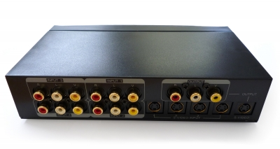 4-Way S-Video, Audio/Video Selector Switch (Photo )