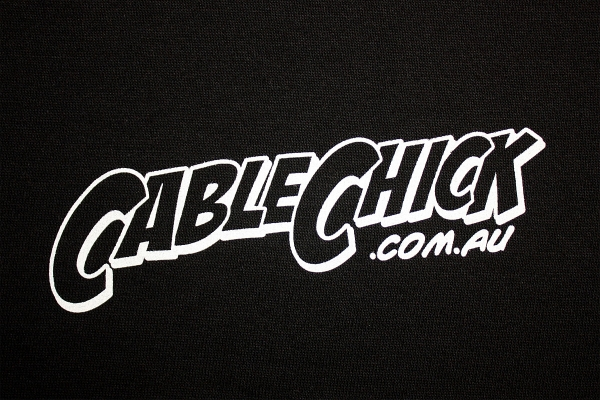 Cable Chick Urban T-Shirt - Size 8 (Womens) (Photo )