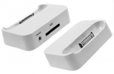 iPhone Dock for Apple iPhone 3 & iPhone 3G S (Photo )
