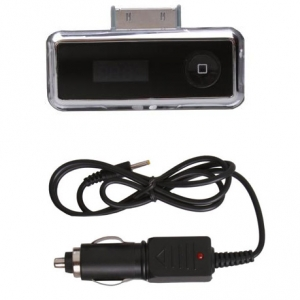 FM Wireless Transmitter for iPod, iPhone & iPad (Photo )