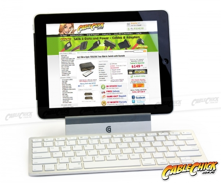 Full-Size Wireless Bluetooth Keyboard (Photo )