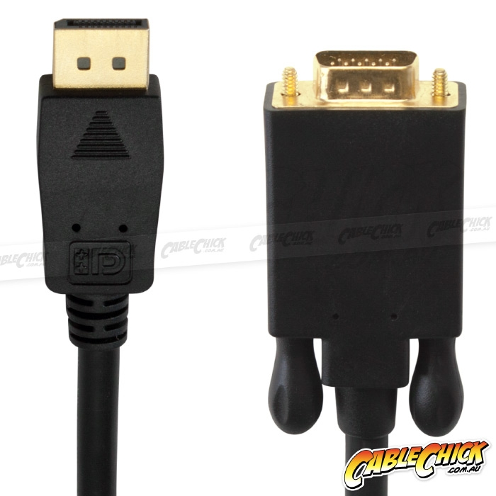 1m DisplayPort (Male) to VGA (Male) Cable (Photo )