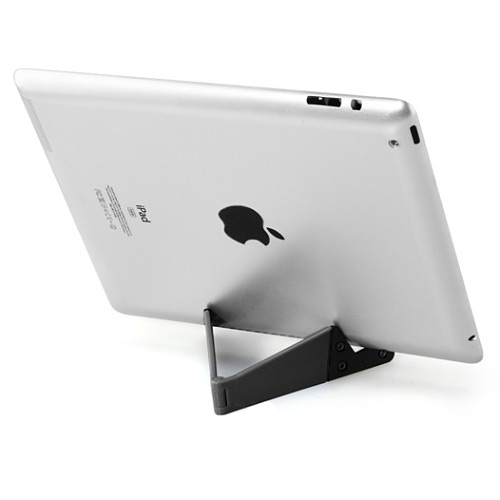 Folding Universal Tablet & Smartphone Stand (Supports iPad, iPhone, Android & More!) (Photo )