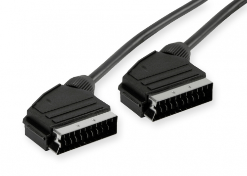 1.8m SCART to SCART Cable (Male to Male) (Photo )