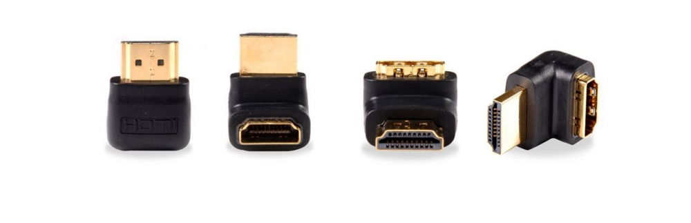 Right Angled HDMI Cable Adapter (UP) (Photo )