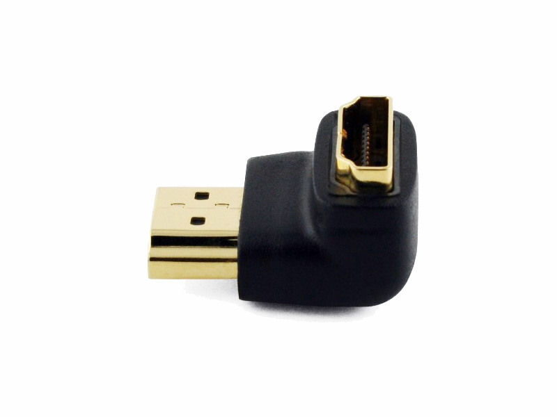 Right Angled HDMI Cable Adapter (DOWN) (Photo )