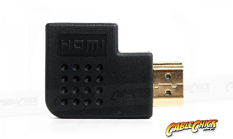 HDMI Right Angled Cable Adapter (Left) (Photo )
