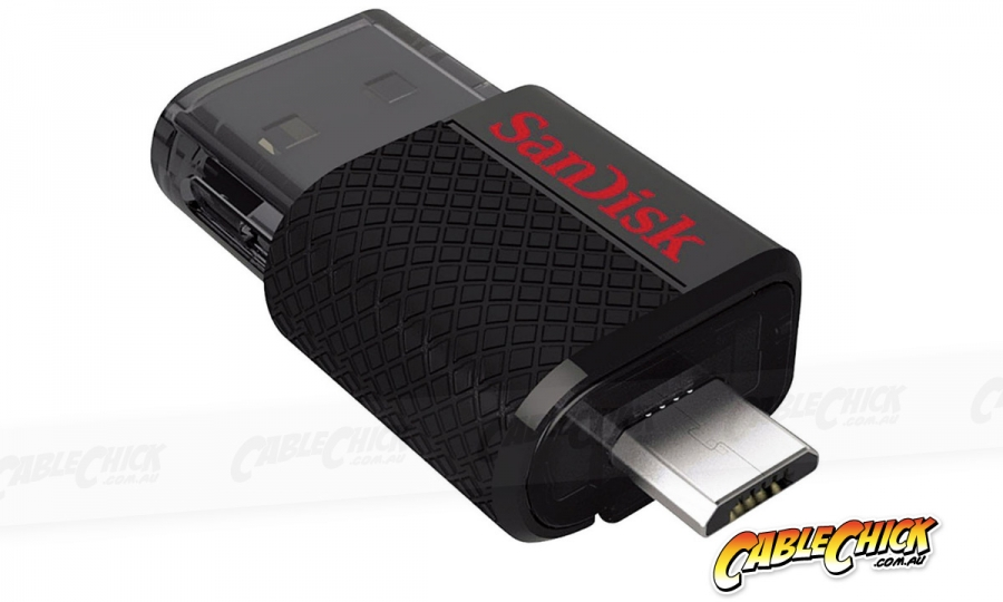 32GB SanDisk Ultra Dual USB 3.0 Drive with USB Type-A & Micro USB Interfaces (Photo )