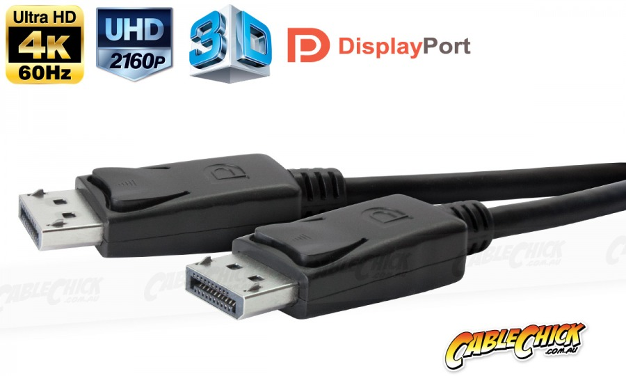 1m Premium DisplayPort Cable (Male to Male) (Photo )