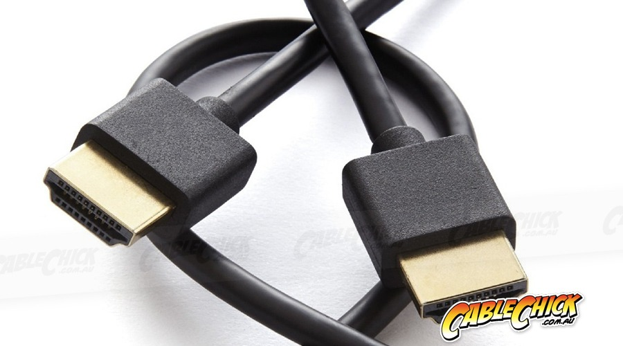 Ultra-Thin 1m HDMI Cable (HDMI v2.0 High Speed with Ethernet) (Photo )