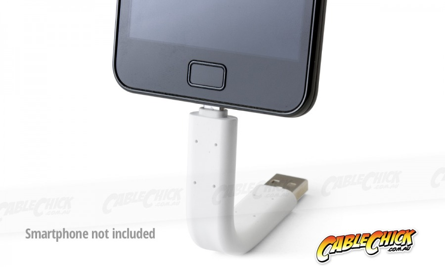 Poseable Micro USB Sync & Charge Cable (Type-A Male to Micro-B Male) (Photo )