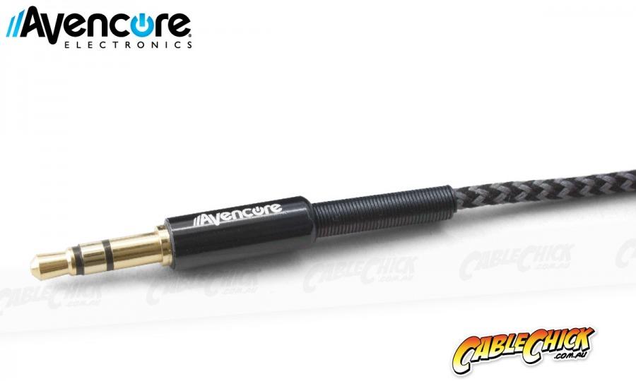 50cm Avencore Platinum Series NANITE: 3.5mm Stereo Audio Cable (Photo )
