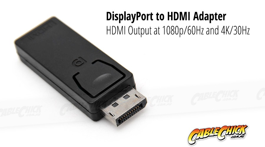 DisplayPort to HDMI Adapter (Male to Female) (Photo )