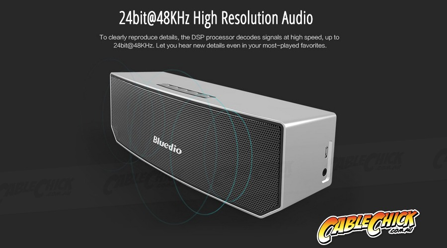 Bluedio BS-3 Dual 5W Driver Bluetooth Speaker (Dual 52mm Triple-Magnet Drivers) (Photo )