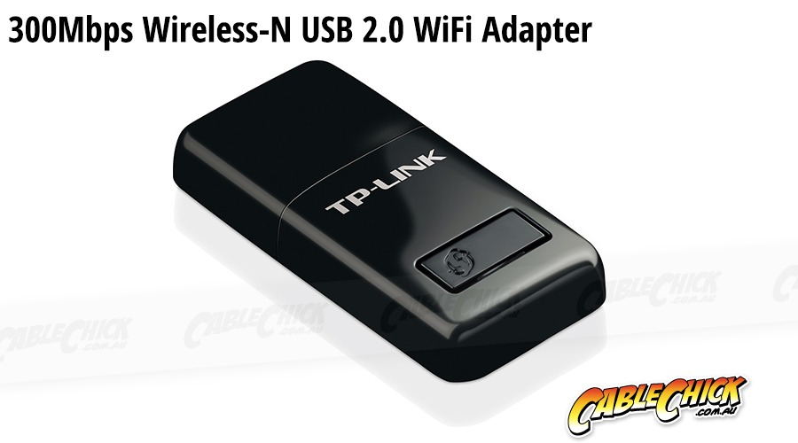 300Mbps USB 2.0 WiFi Adapter - Wireless-N 802.11n Network Adapter (Photo )