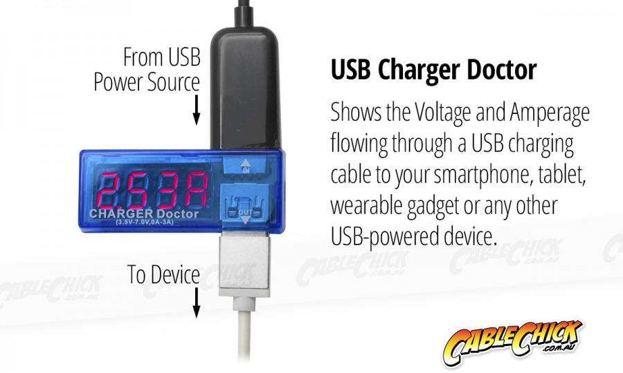 USB Power Meter & Charger Doctor (Photo )