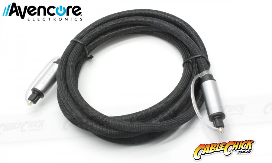 Avencore Platinum 1m TOSLINK Digital Optical Audio Cable (Photo )