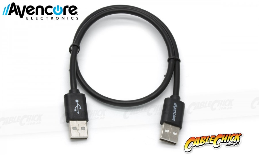 Avencore 1m Hi-Speed USB 2.0 Cable (Type-A, Male to Male) (Photo )
