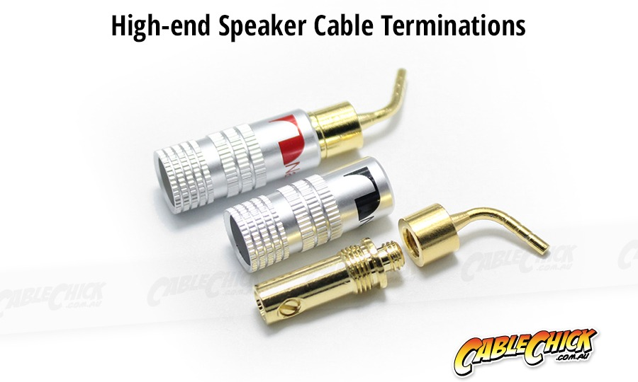 High-End Speaker Pin Terminals (Set of 2) (Photo )