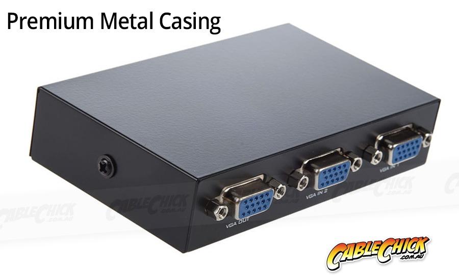 2-Port VGA Switch Box (Photo )