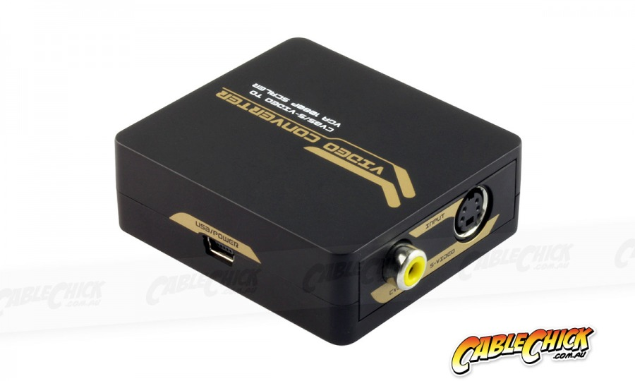 Composite Video & S-Video to VGA Converter and Upscaler (Photo )