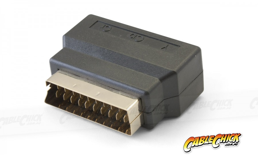 SCART to RGB Component Adaptor (Gold Connectors) (Photo )