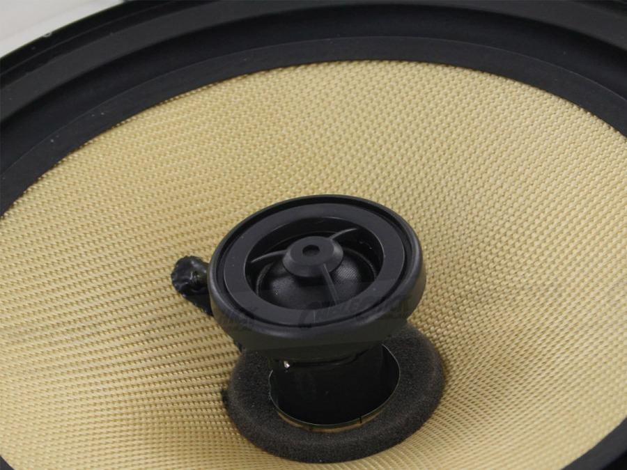 "Round 8"" Pair of Wall / Ceiling Mounted Speakers - 150w Kevlar Drivers (Photo )"
