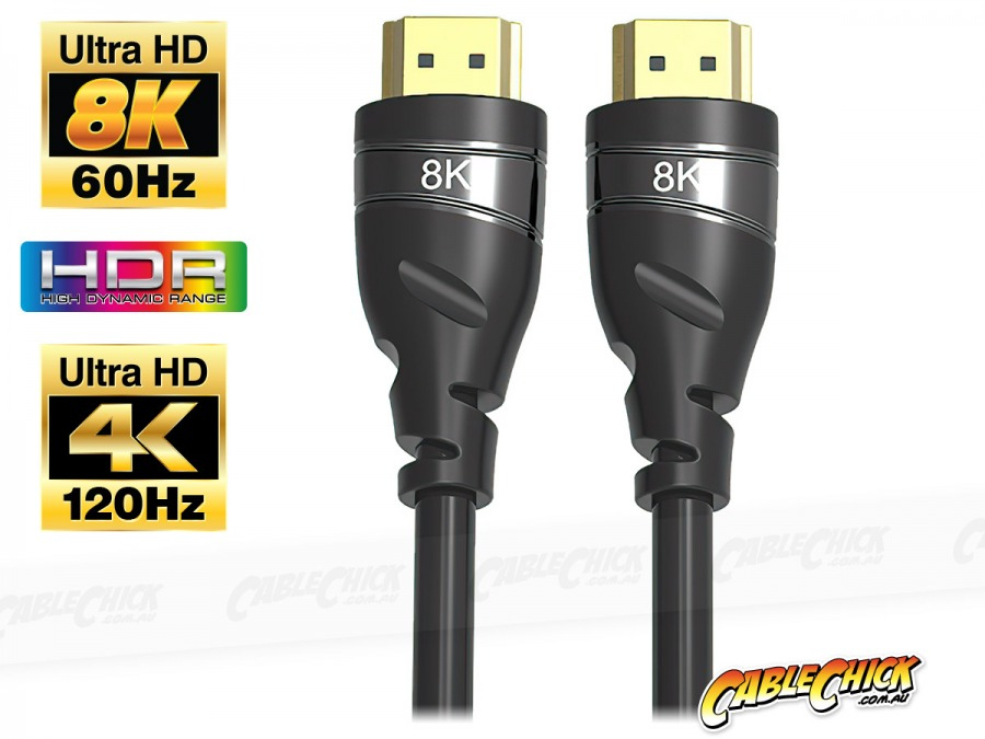 2m HDMI 8K/60Hz Cable (HDMI 2.1 / 48Gbps) (Photo )