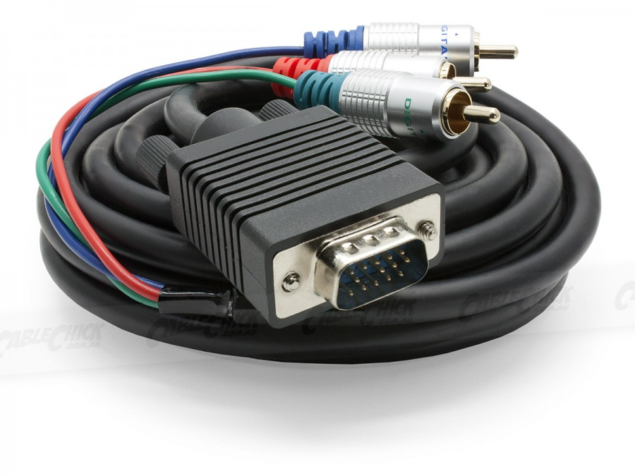 Pro Series 1.5m Component to VGA Cable (Photo )