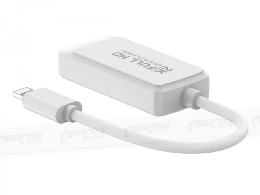 10cm Apple Lightning to HDMI Adaptor Cable (Photo )