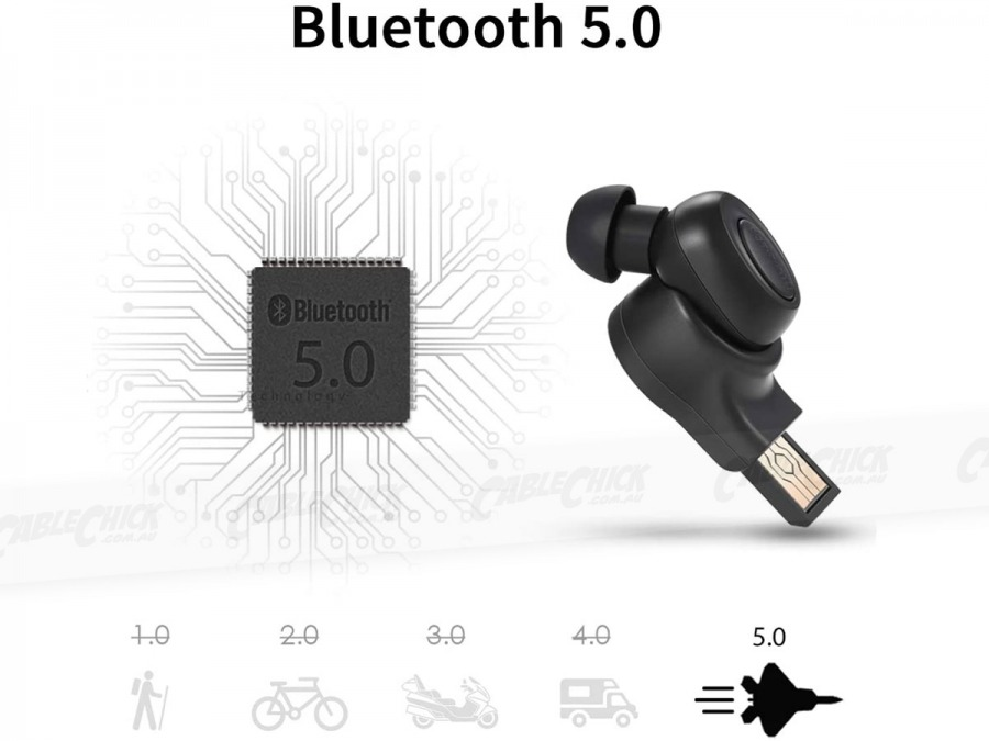 Bluedio T-Talking In-Ear Bluetooth 5.0 Wireless Sports and Handsfree Ear-Bud (Photo )