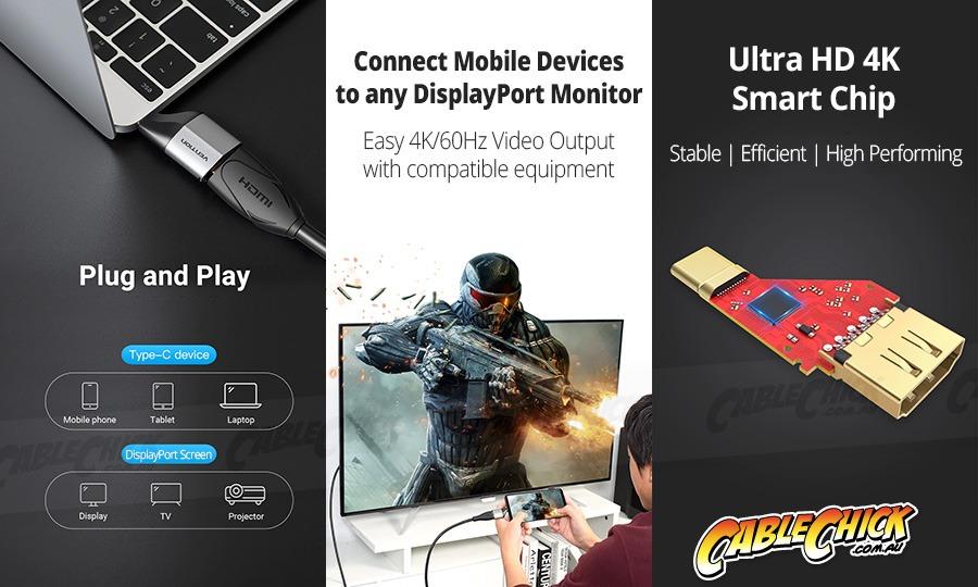 USB-C to DisplayPort Adapter (Up to 4K/60Hz) (Photo )