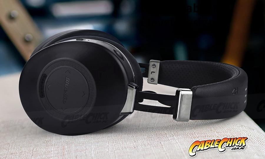 Bluedio Hurricane Active Noise Cancelling Headphones (Bluetooth v5 + USB-C Interface) (Photo )