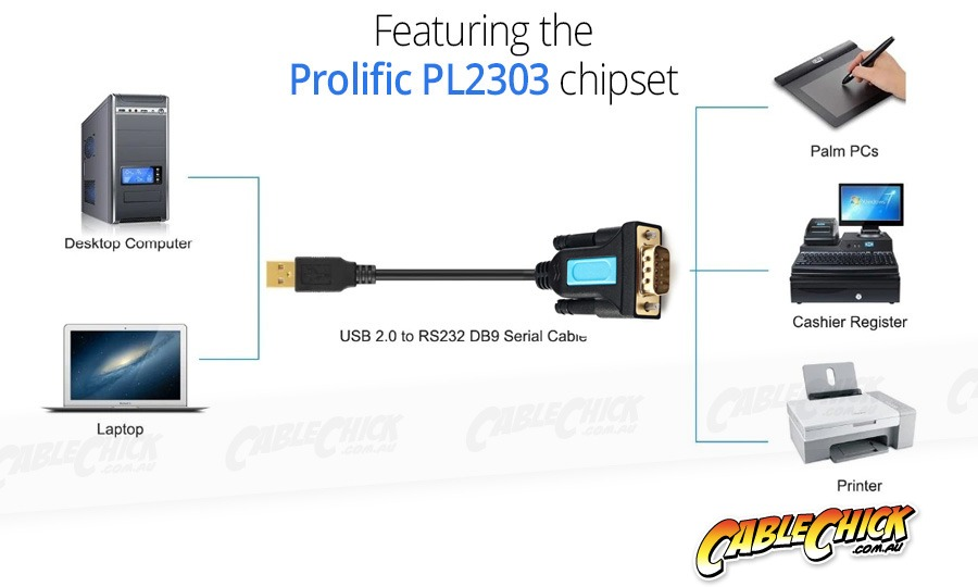Serial to USB Adaptor (RS232) (Photo )