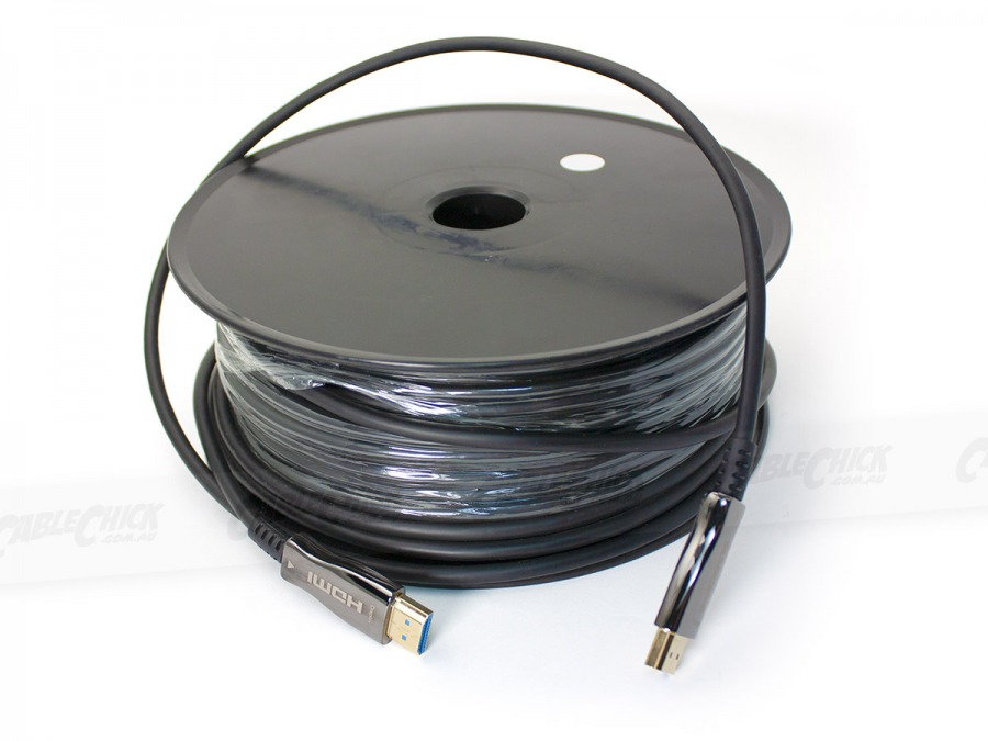 50m Active Optical HDMI 2.0 Cable (18Gbps 4K@60Hz) (Photo )