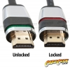 1m Locking HDMI Cable (HDMI v1.4 - High Speed with Ethernet) (Thumbnail )