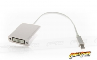 15cm Mini-DisplayPort to DVI Cable Adapter (Male to Female) - Thunderbolt Socket Compatible (Thumbnail )