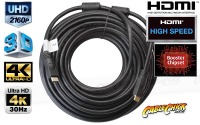 30m HDMI Cable + Integrated Signal Booster Chipset (High-Speed v1.3c) (Thumbnail )