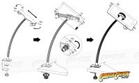 Universal Desk Clamp Mount for Tablets and iPad (Thumbnail )