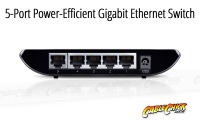 5-Port Gigabit Ethernet Switch (PC Network Switch) (Thumbnail )