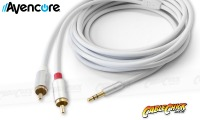 Avencore Crystal Series 50cm Stereo 3.5mm to 2 RCA Cable (Thumbnail )