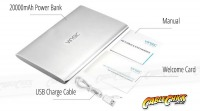 Vinsic Premium 20000mAh Li-Polymer Ultra-Slim Power Bank (Thumbnail )
