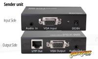 VGA 1x2 Splitter & Extender Over Ethernet (VGA Balun) (Thumbnail )