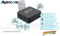 Avencore USB Powered 3-Port TOSLINK Switch with Remote (3x1 Optical Switch) (Thumbnail )