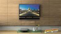 Universal Soundbar Wall Mounting Bracket (Mounts to TV) (Thumbnail )