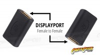 DisplayPort Female to Female Adaptor (DisplayPort Coupler) (Thumbnail )