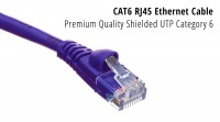 3m CAT6 RJ45 Ethernet Cable (Purple) (Thumbnail )